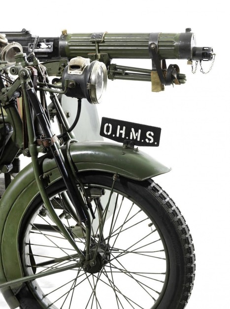 Matchless-Vickers Military Motorcycle - Silodrome | Muscle Bikes of America | Scoop.it