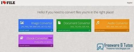 Ilovefile : un service en ligne pour convertir facilement des images, documents, musiques et ebooks | netnavig | Scoop.it