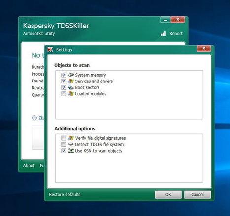 TDSSKiller, segunda de linha de protecção contra malware | Utilidades | Scoop.it