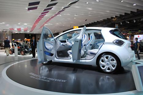 L'autonomie de la Renault Zoé a été doublée pour le Mondial de l'auto | assurance temporaire | Scoop.it