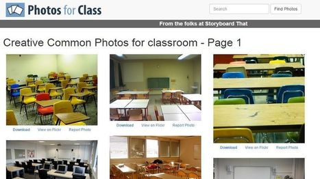 How Teachers Can Find and Download Safe Creative Common Images for use in the Classroom - EdTechReview™ (ETR) | Edtech PK-12 | Scoop.it