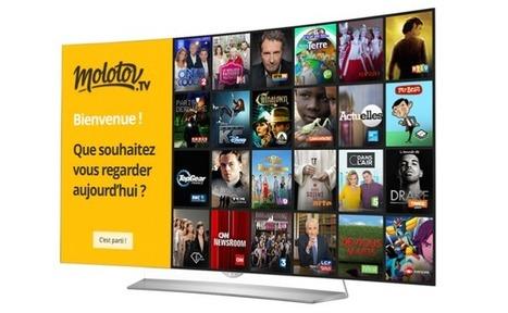 Molotov .tv signe avec LG et Samsung | Gadgets - Hightech | Scoop.it