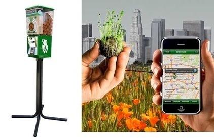 Seedbombs Feita a partir de uma mistura de argila, adubo e…   Sustain Our Earth   Scoop.it