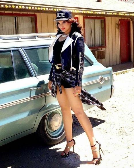 Sonakshi Sinha Makeover as Hip Hop girl for Yo Yo Honey Singh's Album 'Desi Kalakaar', Actress, Bollywood, Western Dresses   fashion   Scoop.it