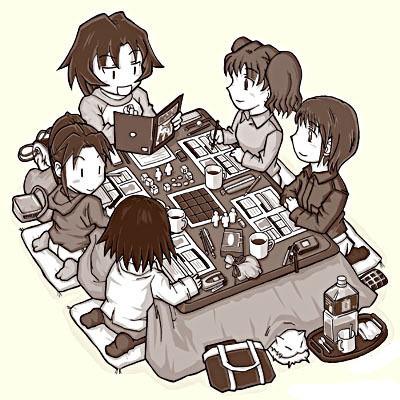 Que faut-il pour jouer aux jeux de rôle ?   Jeux de Rôle   Scoop.it