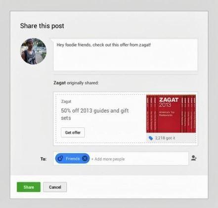 La publicité avec Google Offers débarque bientôt sur Google+ | TooClic.com | MySEOZone | Scoop.it