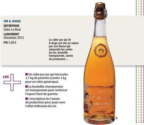 Cidre Le Brun élabore un nectar millésimé - LSA | Cidres de Bretagne | Scoop.it