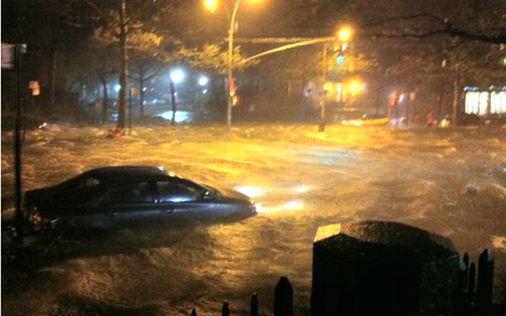 Superstorm Sandy Flooding New York Streets [PICS] | Weather And Disasters | Scoop.it
