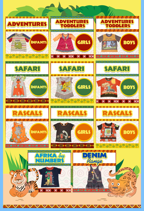 Great Sale of Kids Clothing in safarirascals2012 store on eBay! | Africa in Your Clothing | Scoop.it