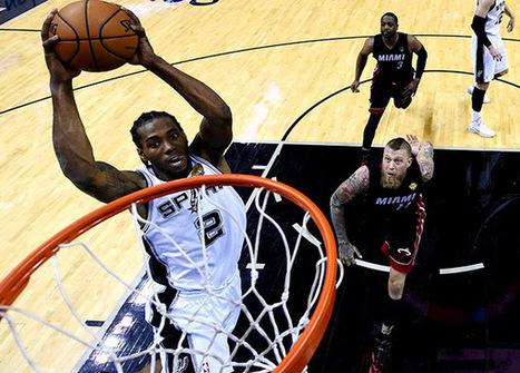 Kawhi Leonard named Finals MVP as Spurs claim fifthtitle | The Point Forward - SI.com | NBA Playoffs | Scoop.it