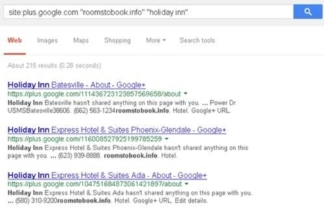 Hotel giants fall victim to spam attack on Google | Hôtellerie, luxe & médias sociaux | Scoop.it