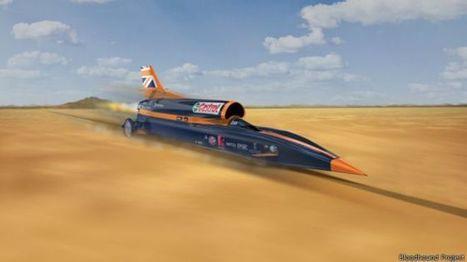 Britânicos desenvolvem carro supersônico que pode chegar a 1.600 km/h   tecnologia s sustentabilidade   Scoop.it