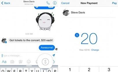 C'est pas mon idée !: Facebook casse le jouet du paiement P2P   How digital builds our future   Scoop.it