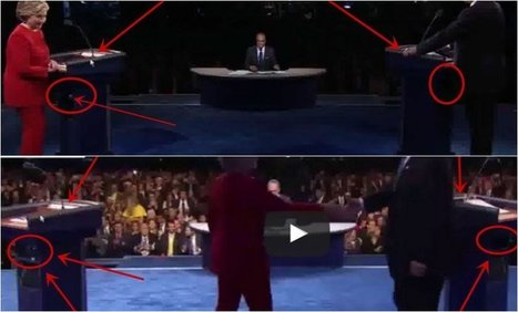 "VIDEO: Hillary's Secret ""Cleaner"" Caught RED-HANDED After Debate, His True Identity EXPOSES The Whole Thing ⋆ US Herald 