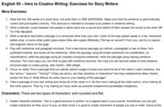 Exercises for Fiction Writers - Page 2 | 6-Traits Resources | Scoop.it