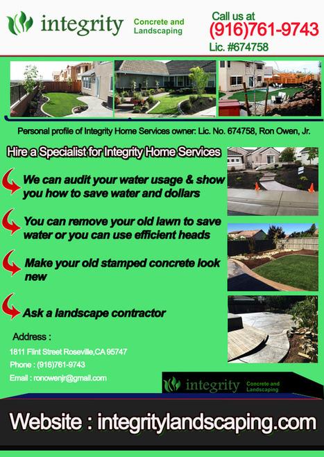 Rocklin Landscape Contractors | Integrity Landscaping | Scoop.it