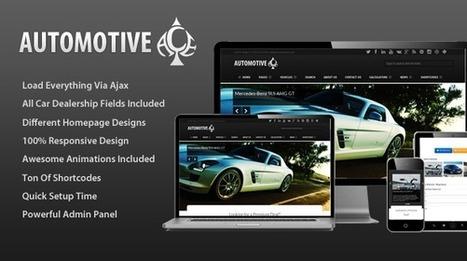 Automotive Ace – Responsive Car Dealership Theme - Wpthemetuts | Latest Wordpress Themes | Scoop.it