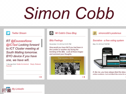 Simon Cobb | ICT and Subject  Coordinators and their schools | Scoop.it