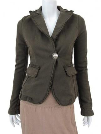 One-Button Jacket | ANGELOS-FRENTZOS | Scoop.it