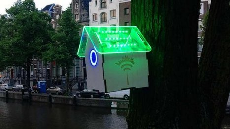 À Amsterdam, le wifi est gratuit quand l'air n'est pas pollué ! Une invention géniale. | L'actu du tourisme responsable et de l'EEDD ! | Scoop.it