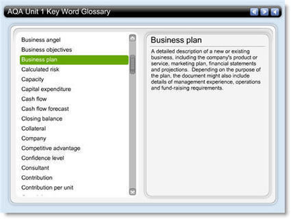 AQA AS Business Studies Unit 1 - Key Term Glossary | Becket Business Studies | Scoop.it
