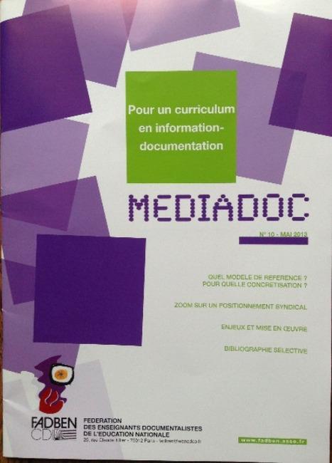 Un curriculum en information-documentation. Quel modèle? | Info-Doc | Scoop.it