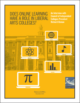 Does Online Learning Have a Role in Liberal Arts Colleges? | Ithaka S+R | Library Collaboration | Scoop.it