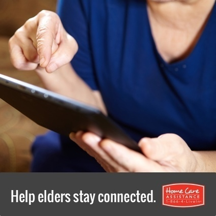 Connecting Seniors with Technology | New Hampshire Home Care Assistance | Scoop.it