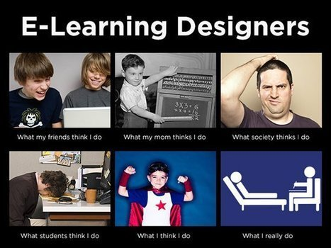 E-Learning Challenge: What Do E-Learning Designers Really Do? | Learning Happens Everywhere! | Scoop.it