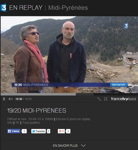Aulon : un peu plus de deux mois après l'avalanche, où en est-on ? JT 19-20 France 3 - Midi-Pyrénées du 10-04-2015 | Vallée d'Aure - Pyrénées | Scoop.it