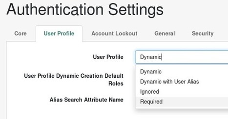 Yet another user name and password: Dynamic Profiles in OpenAM 13 | JANUA - Identity Management & Open Source | Scoop.it