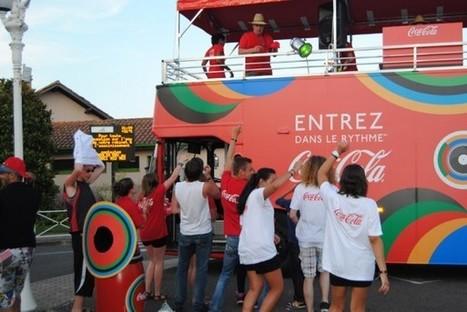 Le Happiness Truck Coca-Cola en mode olympique | streetmarketing | Scoop.it