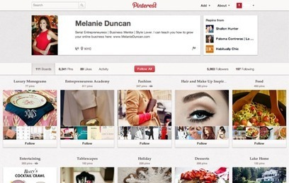 How to Use Pinterest to Drive More Traffic | Online Networked Learning | Scoop.it