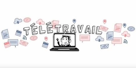 Télétravail: les bonnes pratiques expliquées en vidéo - Mode(s) d'emploi | Le télétravail | Scoop.it