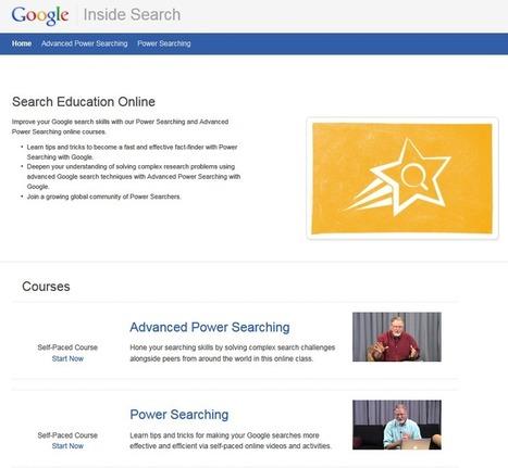 Qui a dit qu'on avait pas besoin d'apprendre à utiliser Google ? | le monde des bibliothèques et des sciences de l'information | Scoop.it