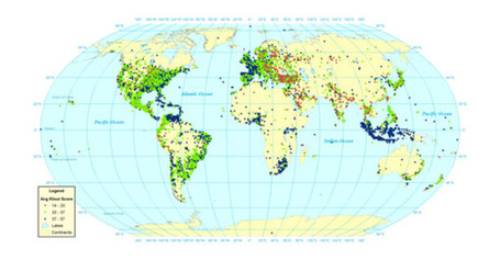 Mapping the global Twitter heartbeat: The geography of Twitter | Leetaru | First Monday | Alt Digital | Scoop.it