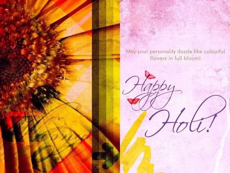 Happy Holi 2014 Latest Card and Ecard, Holi Card Greetings|Wallpapers For You | Happy Holi 2014 | Scoop.it