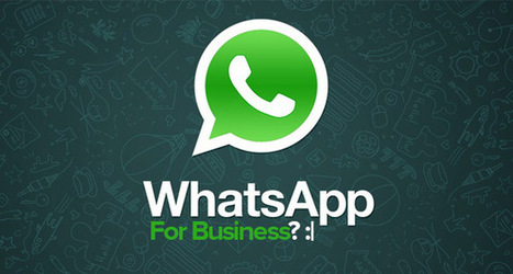 The Practicality of Using WhatsApp for Business?   Social Media & Digital Marketing   Scoop.it