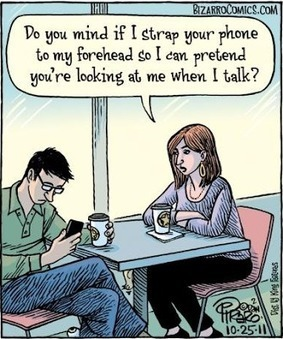 The EFL SMARTblog: Are you always on your phone? | TEFL iDEAS | Scoop.it