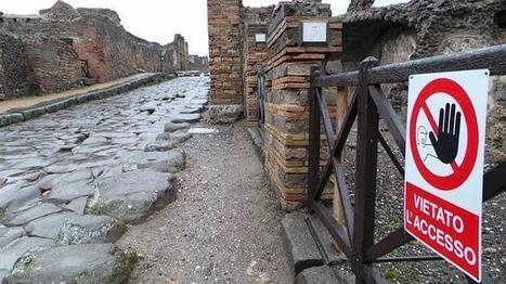 Roban un fragmento de un fresco de Pompeya | Mundo Clásico | Scoop.it