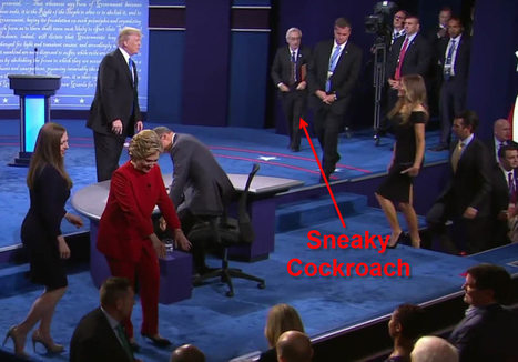 Cheating Hillary Wore Cheap eBay Spy Earpiece During Debate | EUTimes.net | Global politics | Scoop.it