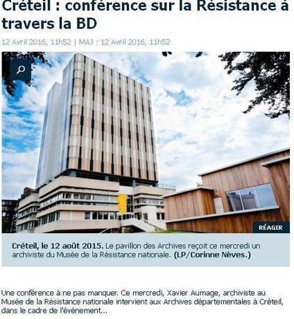 Ce mercredi, de 14 h 30 à 15 h 30 au Pavillon des Archives à Créteil. | Au hasard | Scoop.it