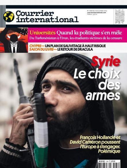 Courrier international n°1168 -  21 mars 2013     Semaine de Presse au CDI André MALRAUX   Scoop.it