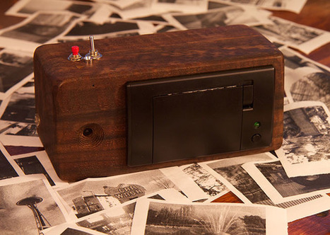 #PrintSnap: A Home-Built #Camera That #Prints on #Receipt Paper (and Almost for Free) #art #photography | Luby Art | Scoop.it
