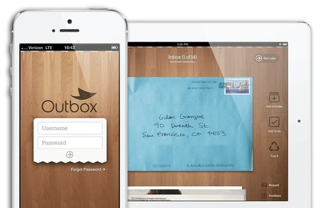 Outbox, a Startup that Wants to Digitally Connect You with Your Snail Mail | Social Media Spirit | Scoop.it