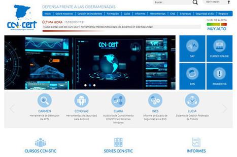 Nuevo portal web del CCN-CERT, herramienta imprescindible para los expertos en ciberseguridad | Informática Forense | Scoop.it