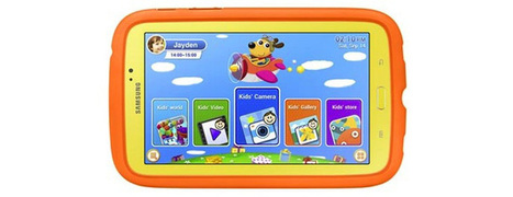 Samsung Announces colorful Galaxy Tab 3 built for kids | Daily Magazine | Scoop.it