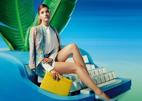 Lily China Spring Summer Campaign 2014 ft. Barbara Palvin | Designer Collection from Fashion and Style | FASHION LILY SS14 - BARBARA PALVIN CAMPAIGN BY FRED & FARID SHANGHAI | Scoop.it
