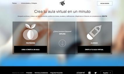 Edoome: Una nueva red social diseñada para la educación - Fundación Chile | Recursos TIC para la enseñanza y el aprendizaje | Scoop.it