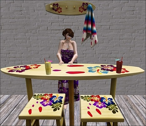 SL Freebie Addiction: All I Have to Say is Aloha | Finding SL Freebies | Scoop.it